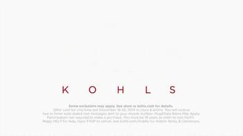 Kohl's 50% Off Sale TV Spot, 'Perfect Thanksgiving' - Thumbnail 6