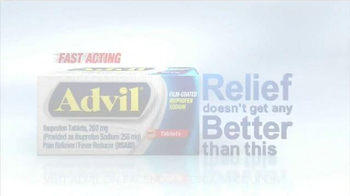 Advil TV Spot, 'Fast Acting Film-Coated Relief' - Thumbnail 9