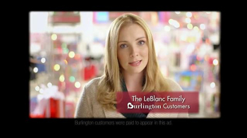 Burlington Coat Factory TV Spot, 'LeBlanc Family' - Thumbnail 2