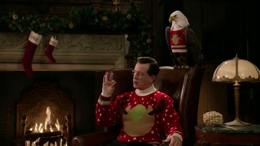 Wonderful Pistachios TV Commercial, 'Ring in Christmas' Featuring Stephen Colbert