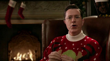 Wonderful Pistachios TV Spot, 'Ring in Christmas' Featuring Stephen Colbert - Thumbnail 4