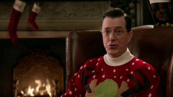 Wonderful Pistachios TV Spot, 'Ring in Christmas' Featuring Stephen Colbert - Thumbnail 5
