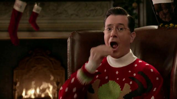 Wonderful Pistachios TV Spot, 'Ring in Christmas' Featuring Stephen Colbert - Thumbnail 6