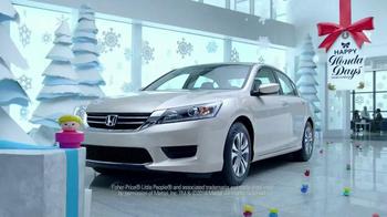 Honda Happy Honda Days Sales Event TV Spot, 'Little People' - Thumbnail 2