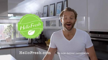 HelloFresh TV Spot, 'Delicious Dinners at Home - Thumbnail 1