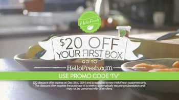 HelloFresh TV Spot, 'Delicious Dinners at Home - Thumbnail 10