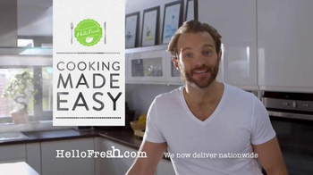 HelloFresh TV Spot, 'Delicious Dinners at Home