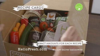 HelloFresh TV Spot, 'Delicious Dinners at Home - Thumbnail 6