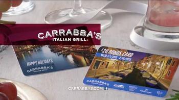 Carrabba's Grill TV Spot, 'Toast the Season' - Thumbnail 10