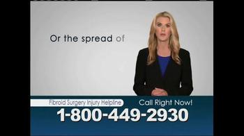 Avram Blair & Associates TV Spot, 'Fibroid Surgery Injury Helpline' - Thumbnail 3
