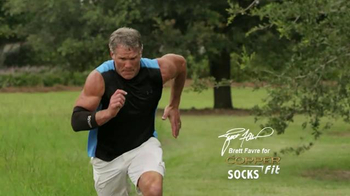 Copper Fit Socks TV Spot, 'High Performance' Featuring Brett Favre - Thumbnail 2