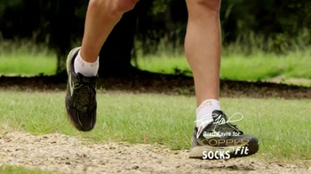 Copper Fit Socks TV Spot, 'High Performance' Featuring Brett Favre - Thumbnail 3