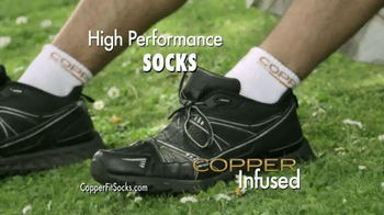 Copper Fit Socks TV Spot, 'High Performance' Featuring Brett Favre - Thumbnail 5