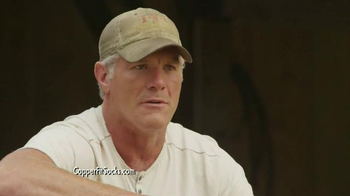 Copper Fit Socks TV Spot, 'High Performance' Featuring Brett Favre - Thumbnail 9