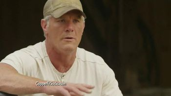 Copper Fit Socks TV Spot, 'High Performance' Featuring Brett Favre