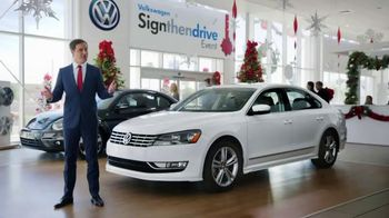 Volkswagen Sign Then Drive Event TV Spot, 'Holiday Season is Here'