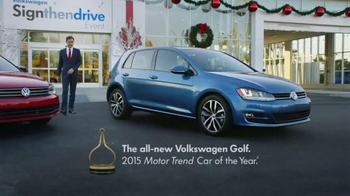 Volkswagen Sign Then Drive Event TV Spot, 'Holiday Season is Here' - Thumbnail 6