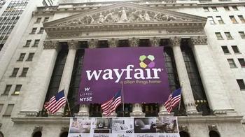 Wayfair TV Spot, 'NYSE Listed' - Thumbnail 1