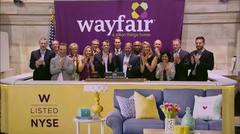 Wayfair TV Spot, 'NYSE Listed' - Thumbnail 7