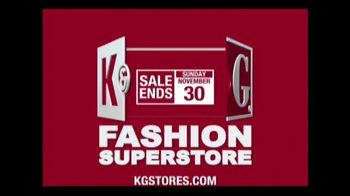 K&G Fashion Superstore TV Spot, 'Thanks and Style'