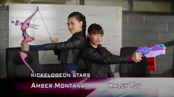 Nerf Rebelle TV Spot, 'Nickelodeon' Featuring Amber Montana, Haley Tju - Thumbnail 3