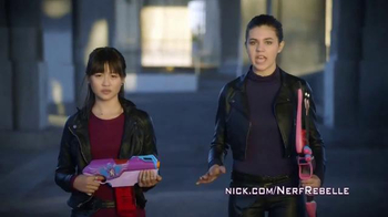 Nerf Rebelle TV Spot, 'Nickelodeon' Featuring Amber Montana, Haley Tju - Thumbnail 5