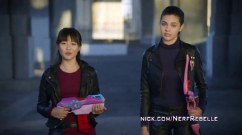 Nerf Rebelle TV Spot, 'Nickelodeon' Featuring Amber Montana, Haley Tju - 34 commercial airings