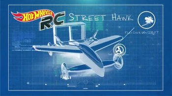 Hot Wheels Street Hawk Remote Control Flying Car TV Spot, 'What's Up' - Thumbnail 4