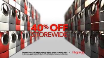 h.h. gregg Thanksgiving Sale TV Spot, 'The Biggest Sale Ever' - Thumbnail 4