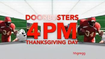 h.h. gregg Thanksgiving Sale TV Spot, 'The Biggest Sale Ever' - Thumbnail 9
