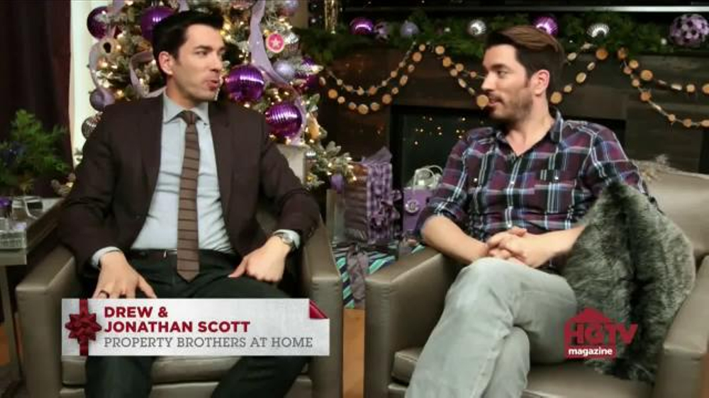 HGTV Magazine TV Commercial, 'Get Covered This Holiday Season'