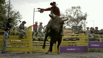 MetroPCS TV Spot, 'Bull Riding' - Thumbnail 5