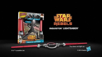 Star Wars Rebels Inquisitor Lightsaber TV Spot, 'Good to be Bad' - Thumbnail 10