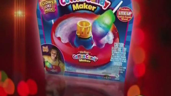 Cra-Z-Art Cotton Candy Maker TV Spot, 'Cool Glowing Real Cotton Candy Maker