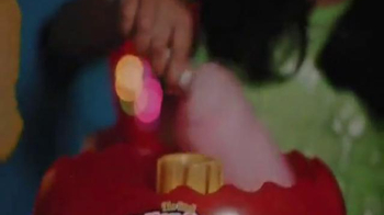 Cra-Z-Art Cotton Candy Maker TV Spot, 'Cool Glowing Real Cotton Candy Maker - Thumbnail 3
