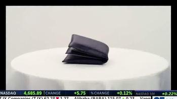 Wocket Wallet TV Spot, 'Wocket Smart Wallet' - Thumbnail 1