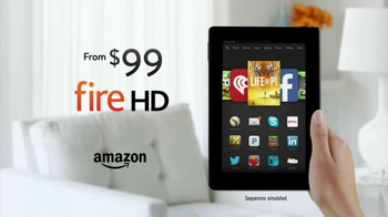 Amazon Kindle Fire HD TV Spot, 'More Than a Tablet' - Thumbnail 10