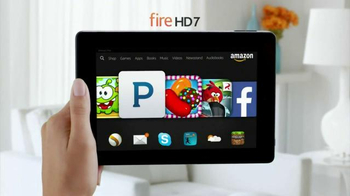 Amazon Kindle Fire HD TV Spot, 'More Than a Tablet' - Thumbnail 2