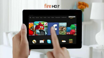 Amazon Kindle Fire HD TV Spot, 'More Than a Tablet'