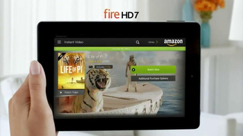 Amazon Kindle Fire HD TV Spot, 'More Than a Tablet' - Thumbnail 4