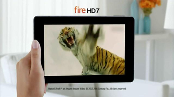 Amazon Kindle Fire HD TV Spot, 'More Than a Tablet' - Thumbnail 7