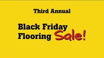 Lumber Liquidators Third Annual Yellow & Black Friday Flooring Sale TV Spot - Thumbnail 2