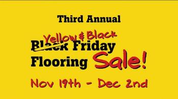 Lumber Liquidators Third Annual Yellow & Black Friday Flooring Sale TV Spot - Thumbnail 3