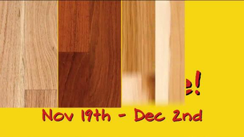 Lumber Liquidators Third Annual Yellow & Black Friday Flooring Sale TV Spot - Thumbnail 4