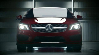 2014 Mercedes-Benz CLA 250 TV Spot, 'Winter Event' - Thumbnail 1