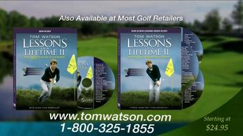 Tom Watson: Lessons of a Lifetime II DVD TV Spot - 13 commercial airings