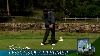 Tom Watson: Lessons of a Lifetime II DVD TV Spot - Thumbnail 1