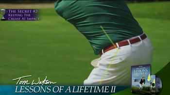 Tom Watson: Lessons of a Lifetime II DVD TV Spot - Thumbnail 2
