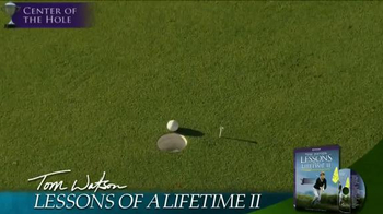 Tom Watson: Lessons of a Lifetime II DVD TV Spot - Thumbnail 3