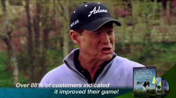 Tom Watson: Lessons of a Lifetime II DVD TV Spot - Thumbnail 7